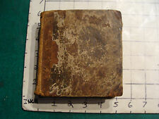 Vintage book: 1788  Perry's ENGLISH DICTIONARY early missing title page