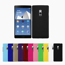 Slim Frosted Matte Hard Plastic PC Case Cover & Free Screen Film For Smart Phone