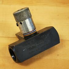 Parker N1020S Hydrailic Flow Control Needle Valve - USED