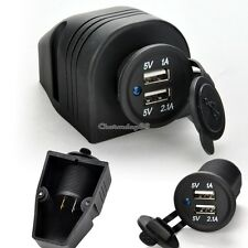 Car Truck Dual USB Charger Power Adaptor Plug Socket Outlet For iphone5 Tablet