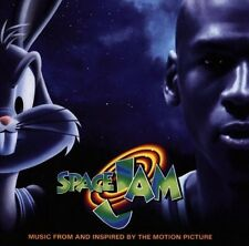 Space jam - COOLIO BUSTA RHYMES BARRY WHITE - CD OST 1996 NEAR MINT CONDITION