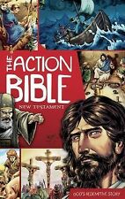 The Action Bible New Testament: God's Redemptive Story Action Bible Series