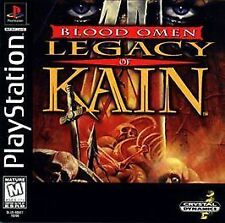 NEW! Blood Omen: Legacy of Kain (Sony PlayStation 1, 1997) Black Label