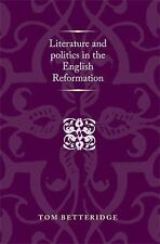 Politics Culture and Society in Early Modern Britain MUP: Literature and...