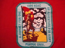 Vintage 1994 Noac Purdue Univ. Adventure For Many Boy Scouts Group T Shirt XL