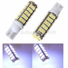 2x T10 W5W 501 68 SMD LED Xenon White Car Turn Side Wedge Light Dash Bulb DC 12V