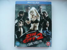 Sin City 2: A Dame to Kill For [3D Blu-ray 2014] with lenticular slip cover + UV