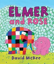 Elmer and Rose by David McKee Hardcover NEW Elmer Books