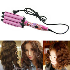 3 Barrels 22mm Size Big Hair Wave Curling Iron Hair Ceramic Curler Waver