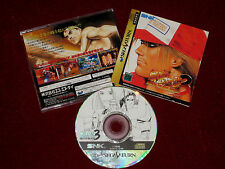 SEGA Saturn FATAL FURY 3: ROAD TO THE FINAL VICTORY NTSC-J Japan Import