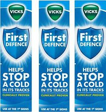 3 x Vicks First Defence Micro-Gel Nasal Spray 15ml