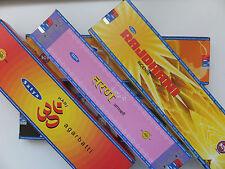 5x verschiedene 30/ 25 Gramm Satya  Nag Champa - incense sticks Räucherstäbchen