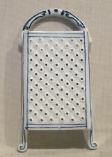 Vintage Blue Onion Cheese Grater