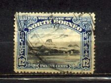 1931 Malaya North Borneo 12c Used CV Rm 35