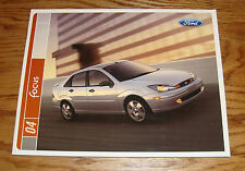 Original 2004 Ford Focus Sales Brochure 04 ZX3 ZX5 ZTS ZTW LX SE