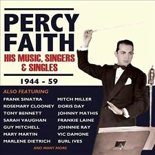 His Music, Singers & Singles, 1944-59 [Box] by Percy Faith (CD, Oct-2013, 4 D...