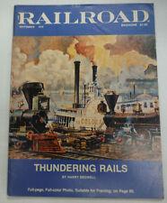 Railroad Magazine Thundering Rails September 1976 071615R2