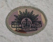 RISING SUN PATCH DESERT CAMO SHOULDER TITLE - OBSOLETE
