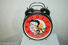 GRAND  REVEIL DECORATIF BETTY BOOP / RELOJ  FANTAISIE COLLECTION  FONCTIONNE BE