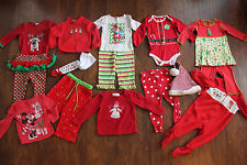 LOT OF 16 Boutique Holiday Christmas 12-18 m Mud Pie Starting Out Patsy Aiken