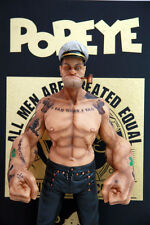 "Headplay 1/6 Scale 12"" Popeye the Sailor Man Resin Statue Figure TATTOO BODY"