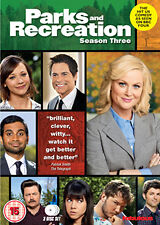 PARKS AND RECREATION - SEASON 3 - DVD - REGION 2 UK