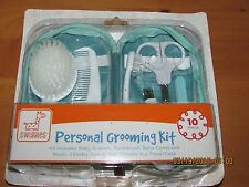 Baby Boy Personal Grooming travel kit with case. 10 pc.  New, free shipping !