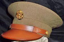 MINT Special Original WW2 US Army Visor Cap Uniform hat Insignia badge Helmet