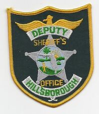 Hillsborough, Florida Sheriff's patch