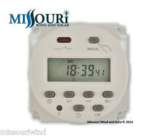 12 Volt DC Digital Programmable Timer