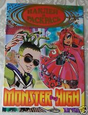 Monster High  Coloring Book with  stickers  NEW # MB 758