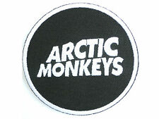 Arctic Monkeys Logo Iron On Sew On Shirt Bag Hat Applique Badge Patch 3""