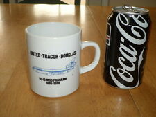 DOUGLAS DC-10, UNITED AIRLINES, Ceramic Coffee Cup, Vintage