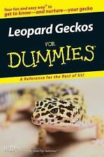 Leopard Geckos For Dummies, Liz Palika, Good Condition, Book