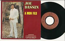 "JOE DASSIN 45 TOURS 7"" FRANCE A MON FILS"