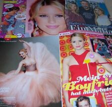 Dianna Agron Glee 30 pc German Clippings Collection