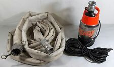 FLYGT (2004.210-0096) READY 4 Contractor Dewatering Submersible Pump with Hose