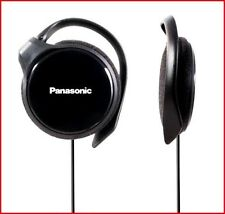 Panasonic RP-HS46 BLACK Clip On Ear-Hook Ultra Slim Quality Headphones Brand New