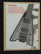 POP-KARD feat. STEINBERGER GUITAR REVIEW cutting 11x15cm greeting card aap