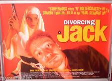 Cinema Poster: DIVORCING JACK 1998 (Quad) David Thewlis Jason Isaacs