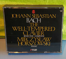 Bach: The Well-Tempered Clavier, Book One (CD, May-1993, 2 Discs Horszowski