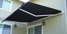 Luxury Retractable Folding Arm Awning 4m x 2.5m Beige or Black