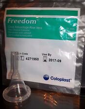 100 -Condom Catheters 31mm FREEDOM CLEAR ADVANTAGE Ref #6300 Adhesive Coloplast