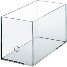MUJI Acrylic CD Rack Box About 13.5 x 27 x 15.5cm Japan New