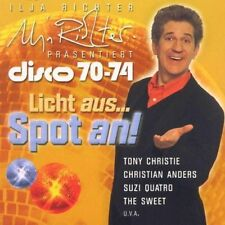 Ilja Richter präsentiert Disco 70-74 Rubettes, Middle of the Road, Tony C.. [CD]