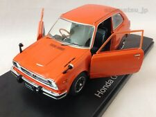 Honda Civic RS (1974) 1:24 Diecast Scale Model Miniature Car Orange New