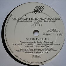 "MURRAY HEAD - One Night In Bangkok - Excellent Condition 7"" Single RCA CHESS 1"