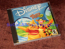 Tigger's Activity Center: Disney Junior Games (PC-CDROM) *NEW & SEALED* Ages 4-8