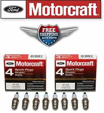 8 Motorcraft Spark Plugs SP432  with Anti-Size Lubricant & Dielectric Grease