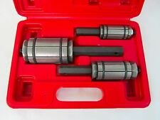"New 3 PC MUFFLER TAIL AND EXHAUST PIPE EXPANDER 1 1/8"" to 3 1/2"" TOOL SET w/Case"